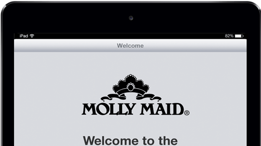 Molly Maid iPad app